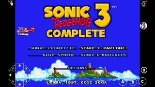 Sonic 3 complete with sonic 2 sprites