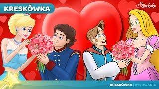 Kopciuszek i Roszpunka Historie Miłosne bajki dla dzieci po Polsku | Bajka i kreskówka na Dobranoc