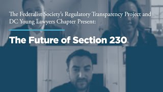 Click to play: The Future of Section 230