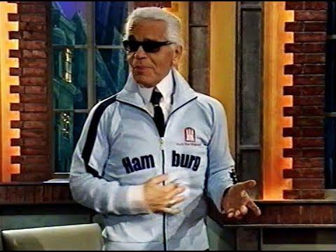 Karl Lagerfeld & der Trainingsanzug (Beckmann 2005)