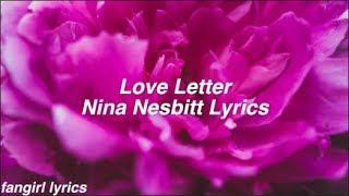 Love Letter || Nina Nesbitt Lyrics