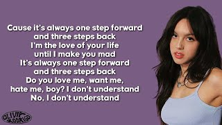 Olivia Rodrigo - 1 step forward, 3 steps back (Lyrics)