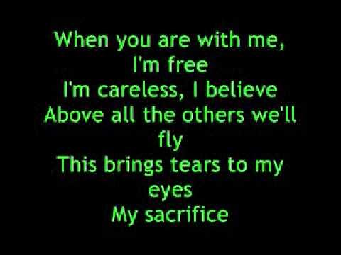My Sacrifice - Creed Lyrics