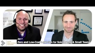 Zero and Low-Cost Lead Gen for Solo Agents & Small Teams