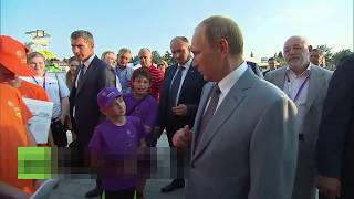 Путин и странная личность позади