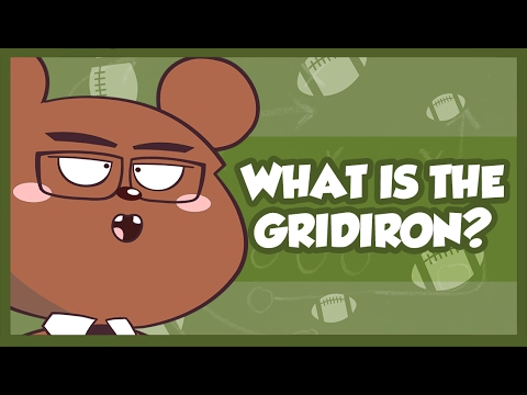 What is the Gridiron meaning? American football trivia you can use at a super bowl party Animation