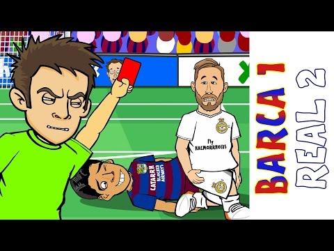 Tóm tắt El Clasico bằng hoạt hình