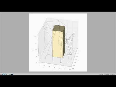 Random direction mobility model in 3D with obstacle using ns-3