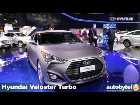 2013 Hyundai Veloster Turbo at the 2012 Detroit Auto Show video