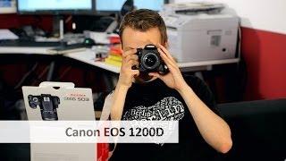 Canon EOS 1200D | Canons neue Einsteiger-DSLR im Unboxing [Deutsch]