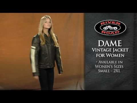 River Road Women S Dame Vintage Leather Jacket 50