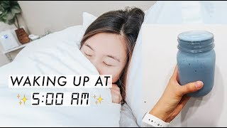 Waking up at 5AM | My Productive Morning Routine 🌟