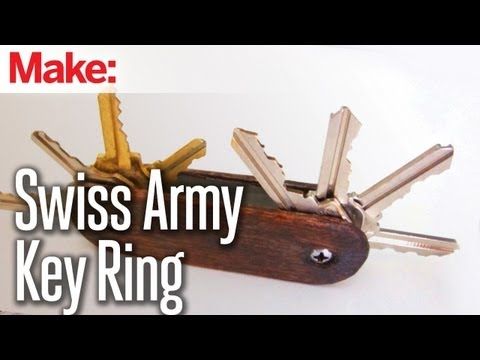 Howto Make A Quot Swiss Army Knife Quot Key Ring Boing Boing