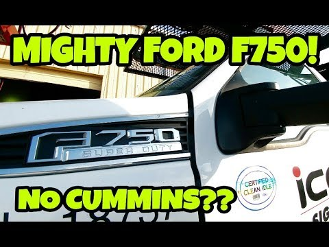 Is Ford's HUGE F750 Reliable with a 6.7L Powerstroke? REAL WORKING TRUCKS!
