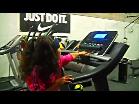 """Baby Kaely  """"Workout""""   7 years old"""