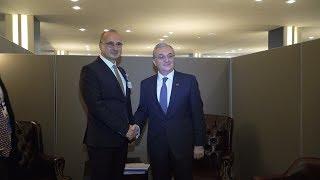 Հայաստանի և Խորվաթիայի արտգործնախարարների  հանդիպումը
