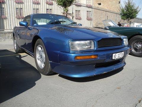 ASTON MARTIN VIRAGE coupé V8 330 CH 1989 1°generation 89-94 Sound action