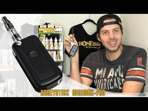 MiniMax PRO Keychain Oil Vaporizer by HoneyStick | All features, How to, 510 Thread, Temperature