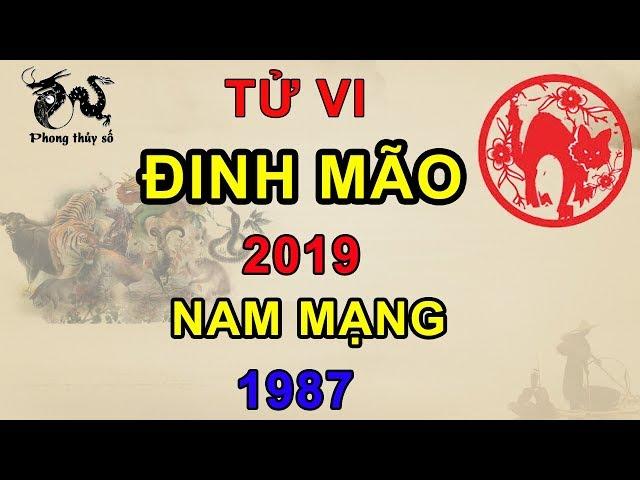 Tử vi 2019 Đinh Mão nam mạng 1987 | Giải Vận Hạn – Đoán Tương Lai – Kích Tài Lộc