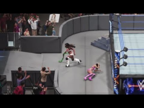 WWE 2K19 SD 24/7 CHAMPIONSHIPS MATCH ALICIA FOX VS BILLIE KAY