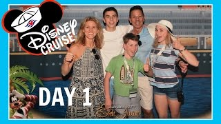 DISNEY CRUISE VACATION | DAY 1: ARRIVAL IN PUERTO RICO | Flippin Katie
