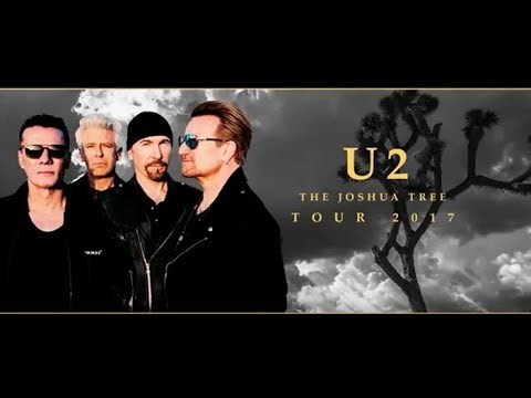 "Video U2: ""The Joshua Tree Tour"" 2017 - Full Concert Multicam @ The Rose Bowl (HD)"