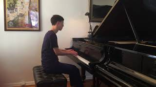 Eugene Han - J.S. Bach English Suite no. 2 in a minor BWV 807 - Prelude