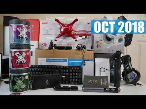 Coolest Tech of the Month October 2018 - EP#18 - Latest Gadgets You Must See