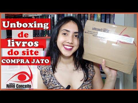 UNBOXING | COMPRA JATO | da Editora Novo Conceito | Leticia Ferfer | Livro Livro Meu