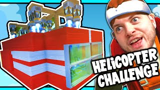 Scrap Mechanic! - HELICOPTER CHALLENGE! Vs AshDubh - [#30] | Gameplay | by iBallisticSquid