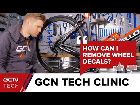 What's The Best Way To Remove Wheel Decals? | GCN Tech Clinic #AskGCNTech