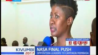 NASA final push : Raila Odinga to lead team i n Mombasa