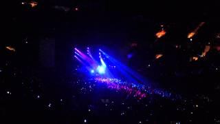 Ed Sheeran - Wayfaring Stranger (no mic) Madison Square Garden NYC 10/29/13