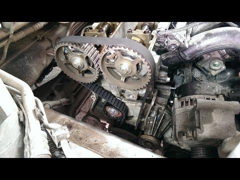 Фото к видео: замена ГРМ / Ford Focus 2 100 л.с.