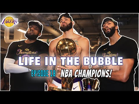 WE ARE NBA CHAMPIONS!!! | Life in the Bubble - Ep. 18 (Season 1 Finale) // JaVale McGee Vlogs