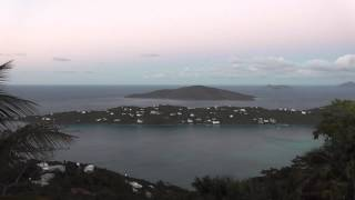 preview picture of video 'Magen's Bay St. Thomas Sunset Time-Lapse'