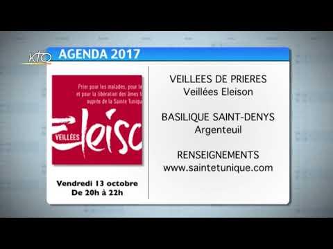 Agenda du 09 octobre 2017