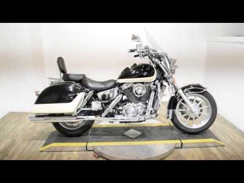 1998 Honda Shadow Ace1100 Tourer in Wauconda, Illinois - Video 1