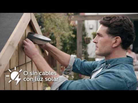 La iluminación perfecta para tu patio o terraza: lámparas solares