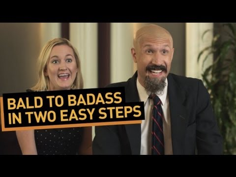 Bald to Badass in Two Easy Steps!