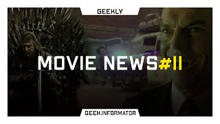 Geekly Movie News #11: Мисливі за привидами 3, Матриця без агента Сміта та Темна Ліга Справедливості