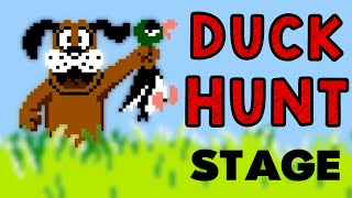 The Duck Hunt Stage! (Smash Wii U)