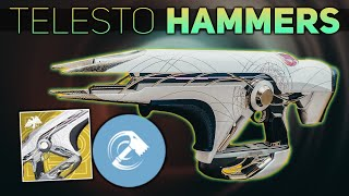 Using Telesto to infuse our Hammer (1 Hit Hammers Titan Build)   Destiny 2 Season of Dawn