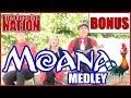 Moana Medley  | KIDS IMAGINE NATION | Music For Kids  |  Family Songs