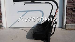 Rhino Ranger Rear Seat and Roll Cage