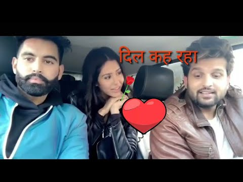 Parmish Verma With Sonam Bajwa And Yuvraj Hans Singing Dil song