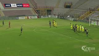 Arzignano-Modena 1-1, highlights