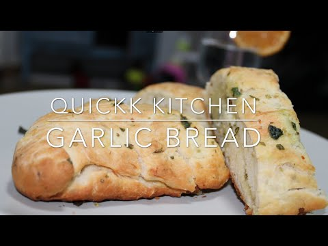 Garlic Bread | cheese garlic bread | Dominos | simple way to make at home  | Soft, spongy & cheesy