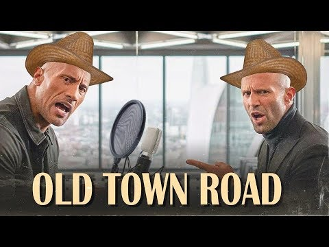 Hobbs & Shaw singing Old Town Road / Lil Nas X