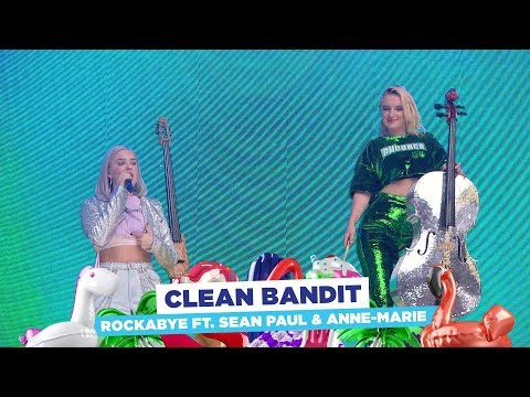 Clean Bandit - 'Rockabye' ft. Anne-Marie & Sean Paul (live at Capital's Summertime Ball 2018)